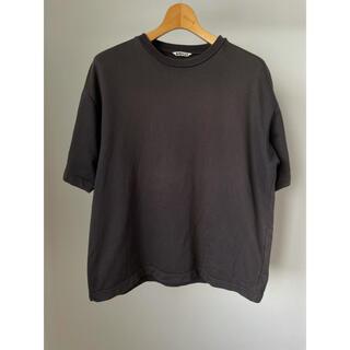 コモリ(COMOLI)のAURALEE オーラリー ワイドTシャツ(Tシャツ/カットソー(半袖/袖なし))