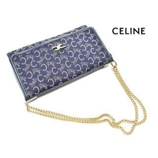 celine - オールドセリーヌ Cマカダム 馬車柄 ゴールドチェーンショルダー バッグ