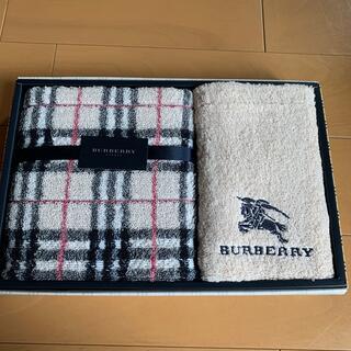 BURBERRY - burberry タオルセット