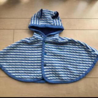 アンパサンド(ampersand)のベビー服 おくるみ ポンチョ アウター コート カーディガン シャツ トップス(カーディガン/ボレロ)