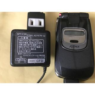エヌティティドコモ(NTTdocomo)のDocomo 充電器 FOMA ACアダプタ 02(バッテリー/充電器)