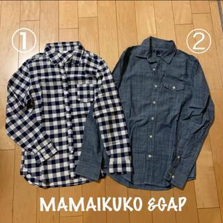 ギャップ(GAP)の♪ブランドシャツ2枚組♪(シャツ/ブラウス(長袖/七分))