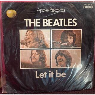国内EPレコード!!THE BEATLES Let it be AR-2461