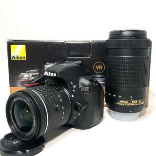 Nikon - Nikon ニコンD5300 AF-Pダブルズームキット360ショット極美品