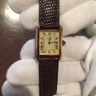 Cartier - 付属品完備 Cartier  カルティエ   腕時計