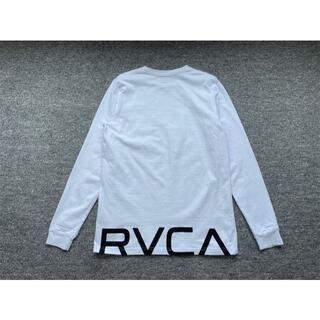 RVCAルーカ ロンt メンズ ロングスリーブTシャツ ホワイト Sサイズ