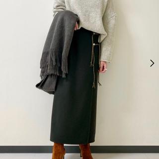 プラージュ(Plage)のRIAM plage ツイードスカート(ロングスカート)