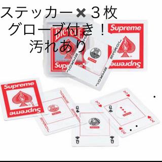 シュプリーム(Supreme)の【未開封】Supreme Bicycle Clear Playing Cards(トランプ/UNO)