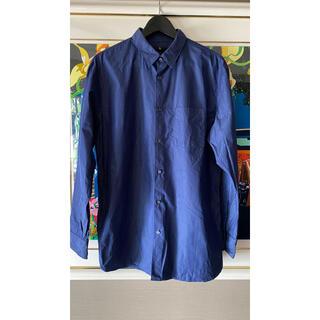 UNIQLO - +J  スーピマコットンレギュラーフィットシャツ 青 Lサイズ