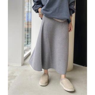 L'Appartement DEUXIEME CLASSE - アパルトモン Knit Long Skirt