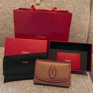 カルティエ(Cartier)のカルティエ*名刺入れ*カードケース*新品未使用*箱袋付き(名刺入れ/定期入れ)