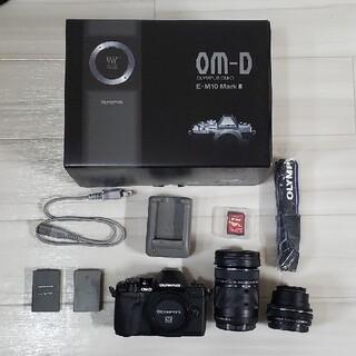 OLYMPUS - OLYMPUS OM-D EM10 Mark III ダブルズームキット