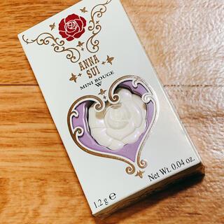 アナスイ(ANNA SUI)の【新品】ANNA SUI  アナスイミニルージュ W01 (リップグロス)