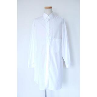 Yohji Yamamoto - ヨウジヤマモトプールオム 18AW 環縫いビッグブラウス ホワイト 3