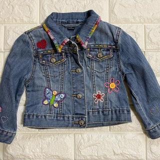 ベビーギャップ(babyGAP)のbabyGAP デニムジャケット 刺繍 95cm(ジャケット/上着)