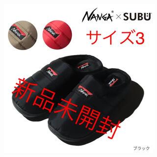 NANGA - NANGA×SUBUTAKIBIWINTERSANDALナンガ×スブ サイズ3
