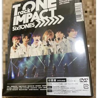 SixTONES/TrackONE-IMPACT-〈初回盤・2枚組〉 DVD