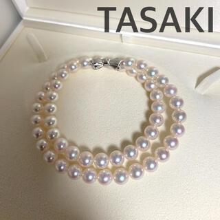タサキ(TASAKI)の【超美品】Tasakiパール8-8.5mm未満約45cm(ネックレス)