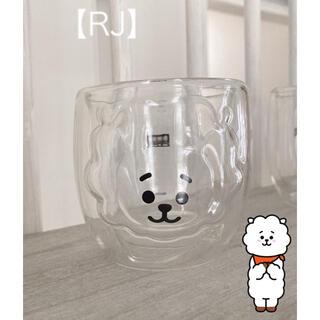 【RJ】可愛い!!♡ BTS BT21 ダブルウォールグラス ジン