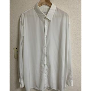 LAD MUSICIAN - LAD MUSICIAN 18SS 定番デシンシャツ ホワイト 46