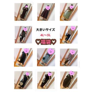 クレット(clette)の4L〜5L♡大きいサイズ♡福袋(セット/コーデ)