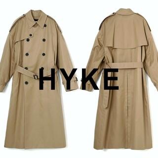 ハイク(HYKE)のハイク ビッグ ロング トレンチコート(トレンチコート)