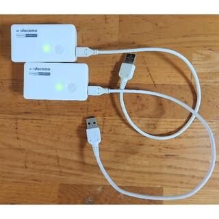NTTdocomo - docomo ポケットチャージャー01 2個セット NTTドコモ 充電池