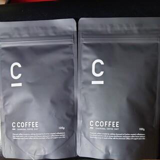 C COFFEE チャコールコーヒー  ダイエット シーコーヒー 100g 2袋