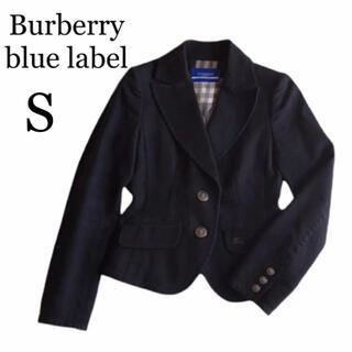 バーバリーブルーレーベル(BURBERRY BLUE LABEL)の【美品】Burberry Blue Label ジャケット ノバチェック ホース(テーラードジャケット)