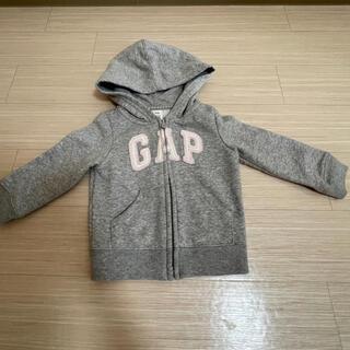 ベビーギャップ(babyGAP)のbabyGAP パーカー グレー 18〜24months サイズ90(ジャケット/上着)