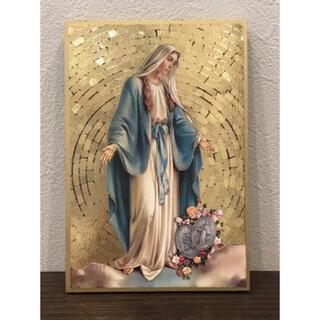 無原罪の聖母マリア ●イタリア製●置物●壁掛け●インテリアにも最適(置物)
