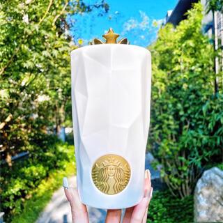 スターバックスコーヒー(Starbucks Coffee)の【スターバックス】50周年シリーズ 陶器製タンブラー 王冠 マーメイド(タンブラー)