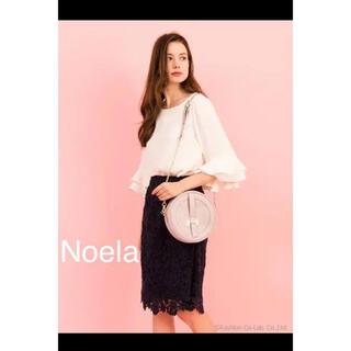 ノエラ(Noela)のNoela レースタイトスカート(ひざ丈スカート)