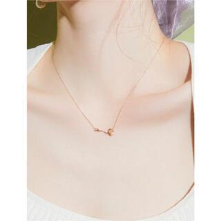 エイミーイストワール(eimy istoire)の新品未開封 eimyistoire k10 wave rose necklace(ネックレス)