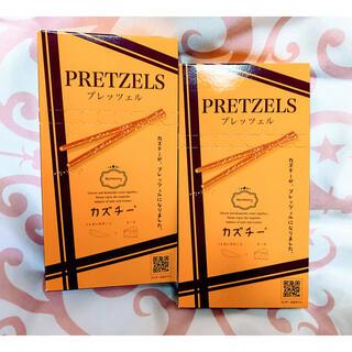 【即日発送!】KALDI  井原水産 カズチープレッツェル 45g  2箱セット(菓子/デザート)