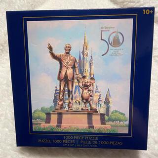 Disney - WDW 50周年記念 パートナーズ像 1000ピースパズル 日本未入荷