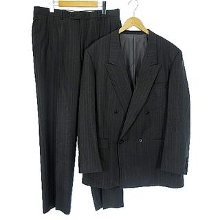 Christian Dior - クリスチャンディオール ヴィンテージ ダブル スーツ セットアップ ストライプ