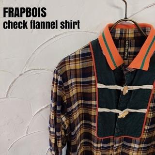 フラボア(FRAPBOIS)のFRAPBOIS/フラボア 長袖 チェック ネルシャツ(シャツ)