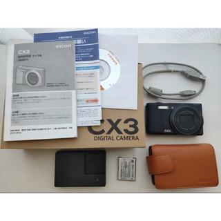 RICOH - RICOH リコー CX CX3 BLACK カメラ コンデジ デジカメ