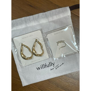 willfully ピアス イヤカフ セット(ピアス)