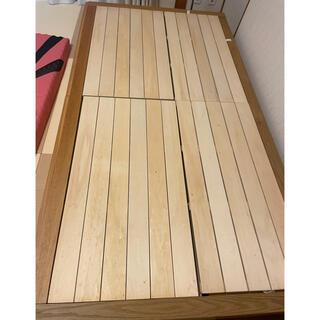 ムジルシリョウヒン(MUJI (無印良品))の無印 引き出し収納 シングルベッド(シングルベッド)