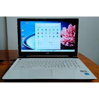 エヌイーシー(NEC)の美品Win11 NS150D/3215U/8G/1T/DVD/WLAN/カメラ(ノートPC)