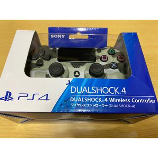 PlayStation4 - PS4ワイヤレスコントローラー 純正デュアルショック4 グリーン・カモフラージュ