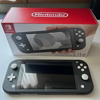 Nintendo Switch - Nintendo Switch Liteグレー