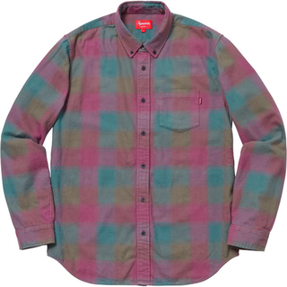 Supreme - Supreme 18AW Shadow Plaid Flannel shirt