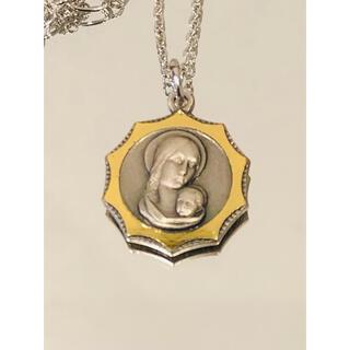 奇跡のメダイユ メダイネックレス(不思議のメダイ) ●聖母子像●ポリッシュカット(ネックレス)