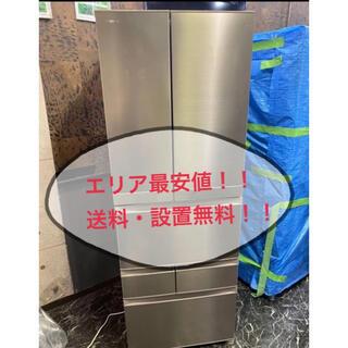 2017年東芝6ドア冷蔵庫