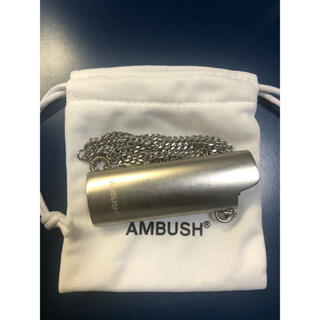 AMBUSH - AMBUSH ライターケース ライターケースネックレス