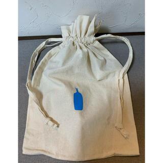 【未使用】ブルーボトル珈琲の帆布巾着袋