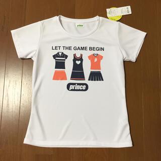 Prince - プリンスレディース ホワイトTシャツ【タグ付、新品】